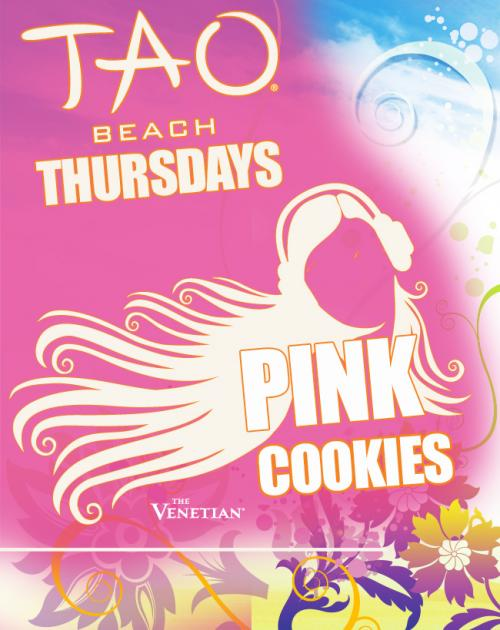 TAO Beach featuring Pink Cookies Thursdays